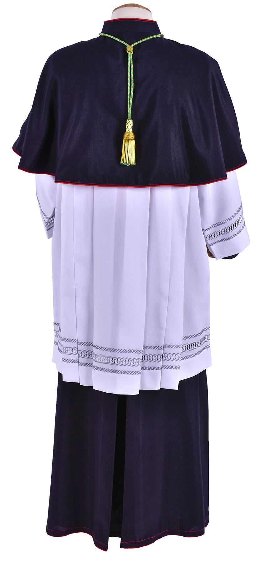 Mozeta Episcopal Italian Cold Wool MZ602