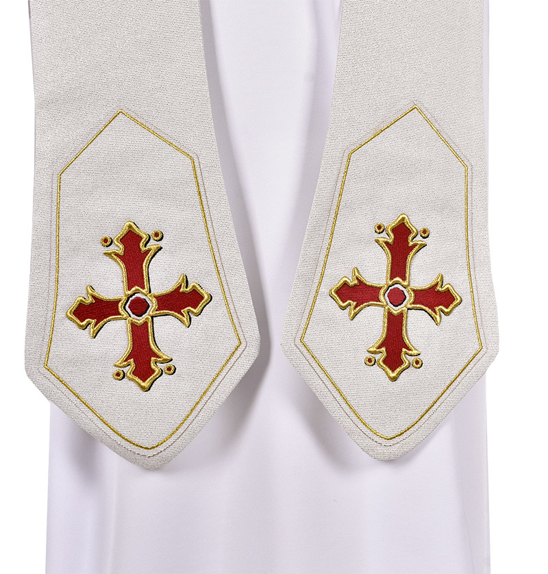Pontifical Priestly Stole Asperges Cope ES255