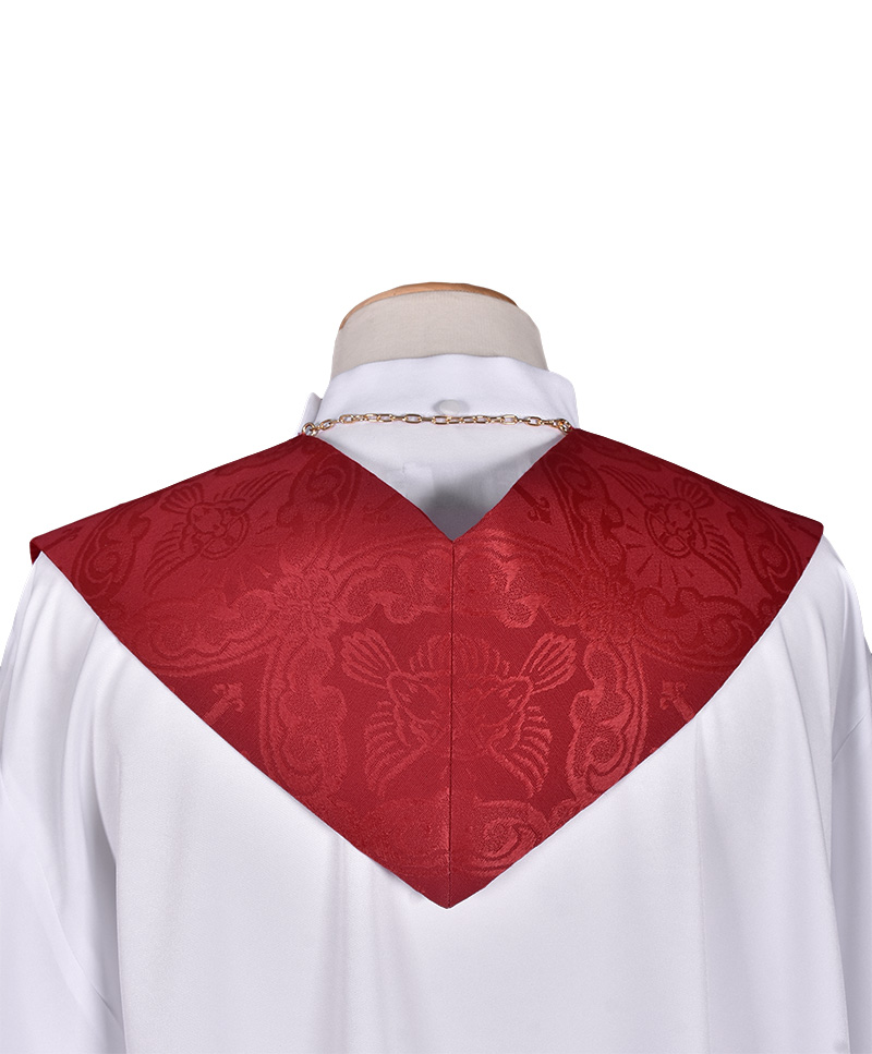 Priestly Stole of the Divine Red ES718