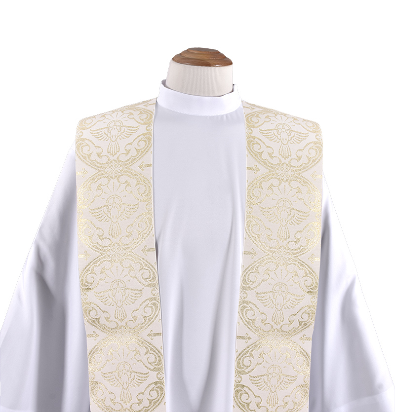 Priestly Stole of the Divine Beige ES718