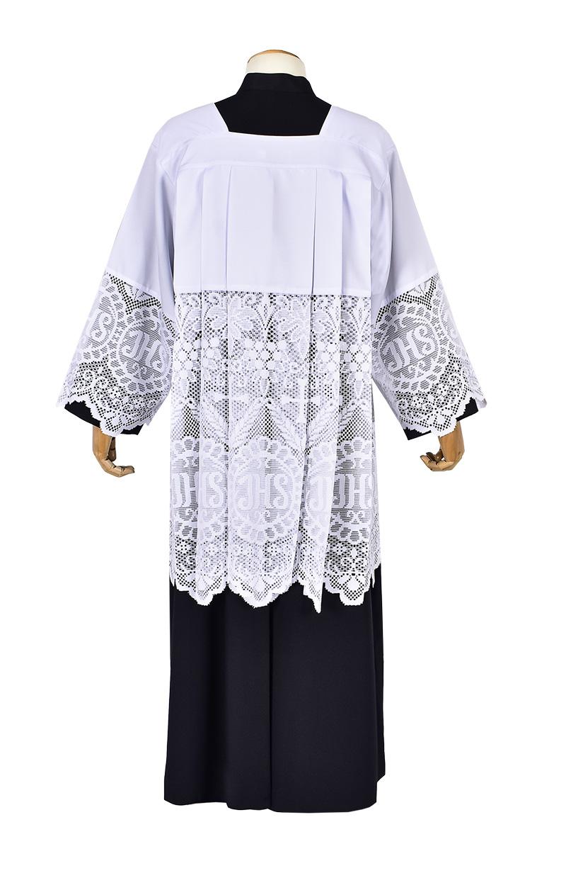 Roquet Liturgical Lace JHS 60 cm RO002