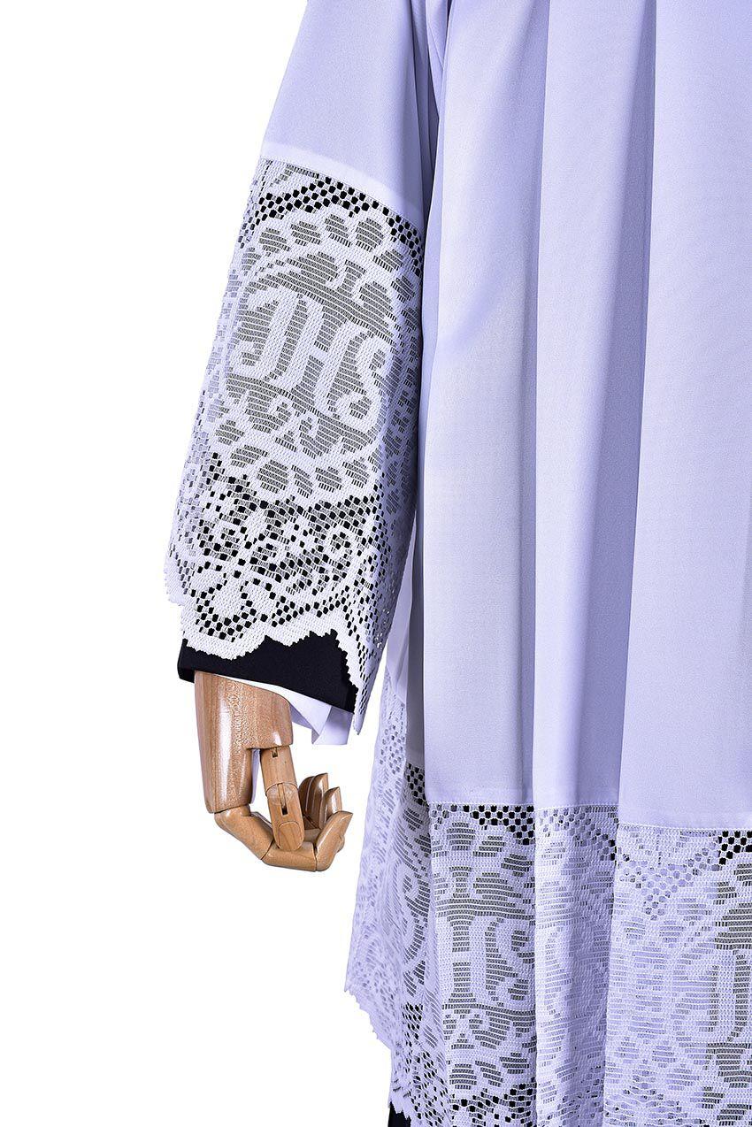 Surplice Liturgical Lace JHS 30 cm SO043