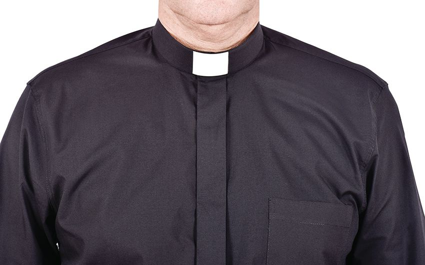 Traditional Clerical Shirt Long Sleeve