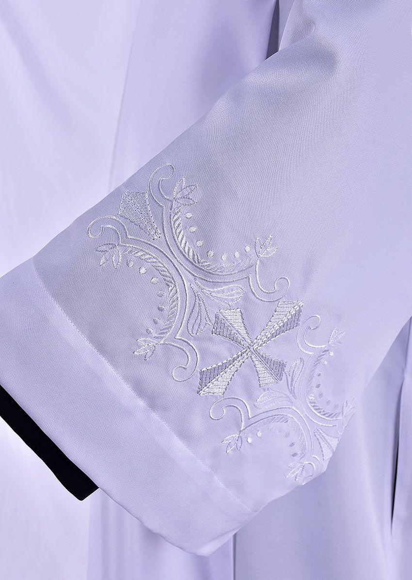 Tunic Pleat Embroidered In Albis TU017