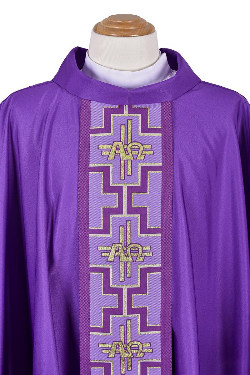 Venice Alpha and Omega Chasuble CS038