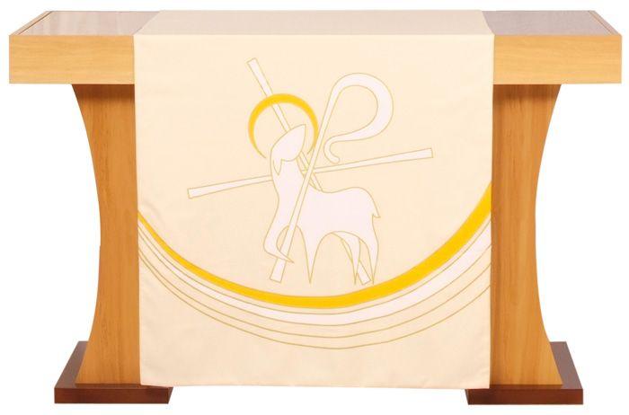 Véu S054 de Altar Páscoa Cordeiro