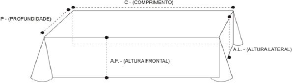 Toalha Altar 3M - 076