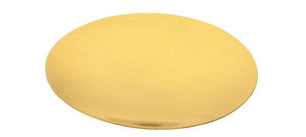 Patena para Cálice Dourada PA103
