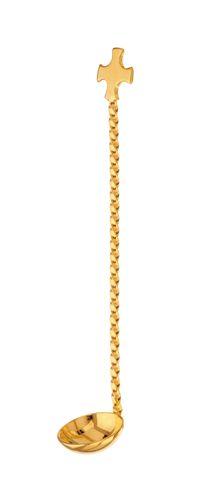 Colher para Cálice Dourada 3801