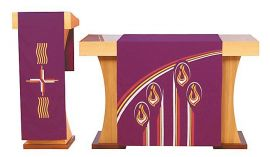 Véu S045 de Altar Advento