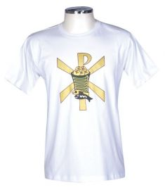 Camisa Eucaristia Adulto Branca S020