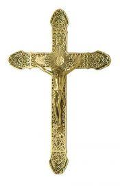 Crucifixo de Parede Bronze 37,5cm