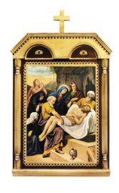 Via-Sacra Capitel 15 quadros 42 x 70cm
