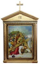Via-Sacra Bizantina 15 quadros 50 x 80cm VS12
