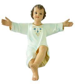 Imagem Menino Jesus Tradicional Resina 46cm