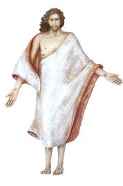 Imagem Cristo Ressuscitado Fibra 70cm 4152