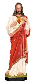 Imagem Sagrado Coração de Jesus Gesso 60cm