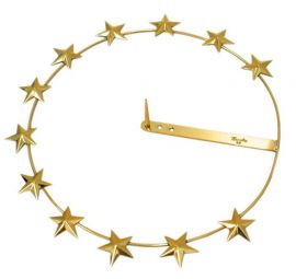 Auréola com Estrela 20,5cm A102