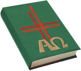 Capa Evangeliário Alfa e Ômega Bordado B006 093