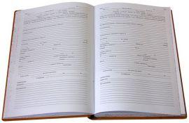 Livro de Registro Casamento Religioso c/ Efeito Civil
