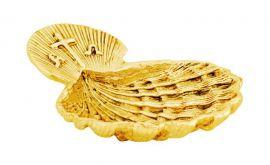 Concha Batismo Dourada 921