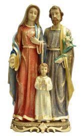 Imagem Sagrada Família Resina 55cm