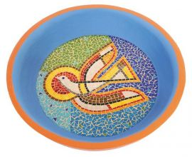 Pia Batismal Mosaico Espirito Santo 4084