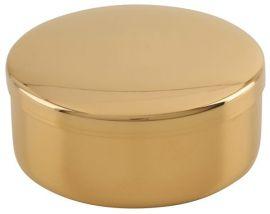 Caixa Hóstia Dourada 8,5 cm 7101