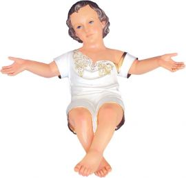 Imagem Menino Jesus Verbo Divino Resina 85cm