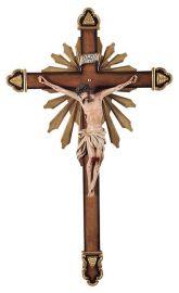 Crucifixo de Parede Resina 85cm