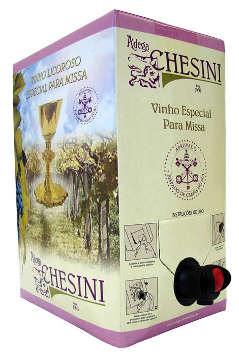 Vinho Canônico Bag-In-Box 5 Litros