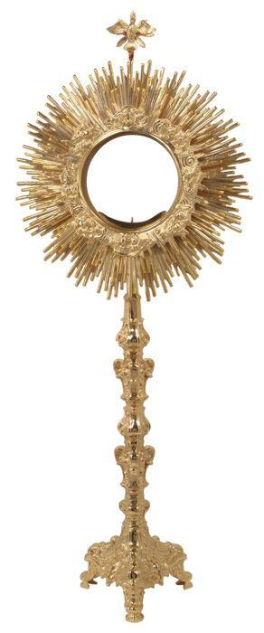 Ostensório barroco dourado (70cm)