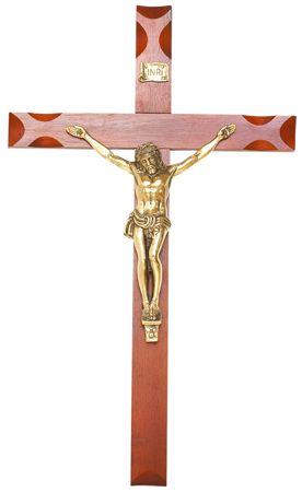 Crucifixo de Parede Metal 115cm 185