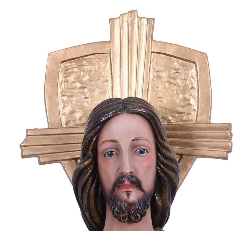 Imagem Cristo Ressuscitado Resina 110cm