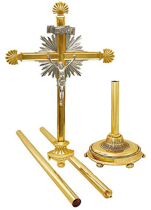 Cruz Processional Clássica Grande 136