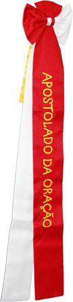 Laço Bordado Bandeira do Apostolado