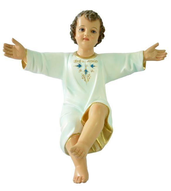 Imagem Menino Jesus Tradicional Resina 50cm