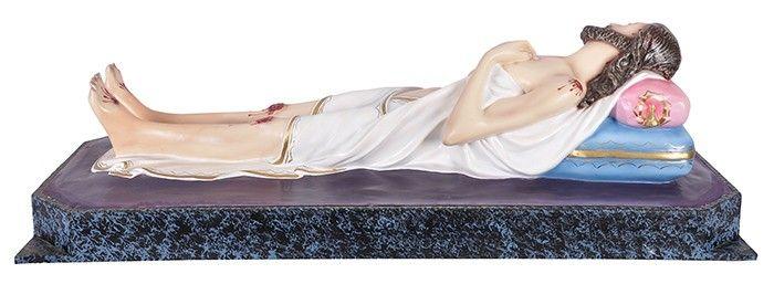 Imagem Senhor Morto Gesso 110 cm