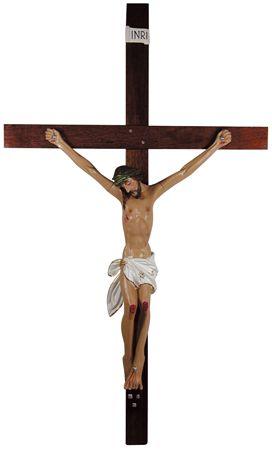 Crucifixo de Parede Gesso 260cm 699