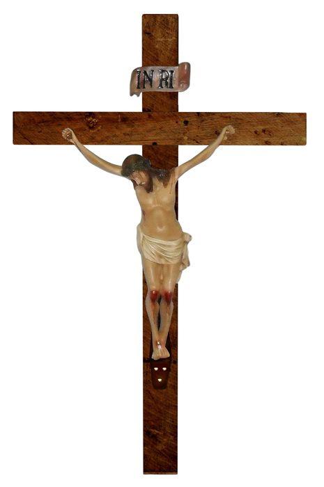 Crucifixo de parede resina 120cm cordis paramentos - Resina para paredes ...