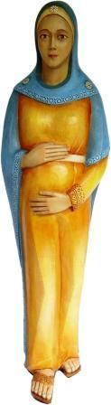 Imagem Maria Mãe da Vida Resina 70cm 7234