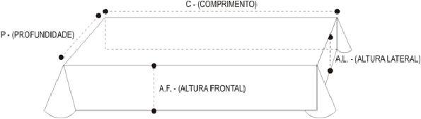 Toalha Altar 4M - 176
