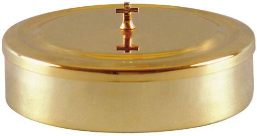 Caixa Hóstia Dourada 25 cm 7109
