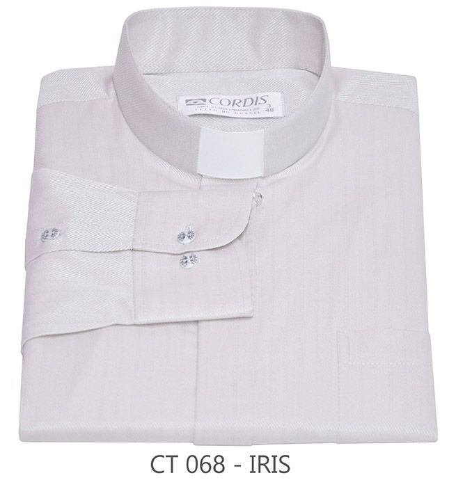 Camisa Clerical Tradicional Irís M/L