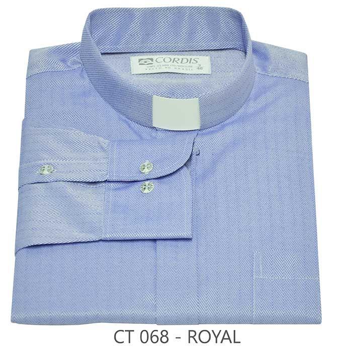 Camisa Clerical Tradicional Royal M/L