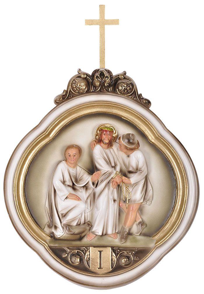 Via-Sacra Durata 15 peças 45x36 cm