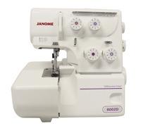 Máquina de Costura Doméstica, Overlock, Janome - 8002D