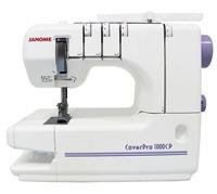 Máquina de Costura Doméstica Galoneira (Colarete), Janome - 1000CPX