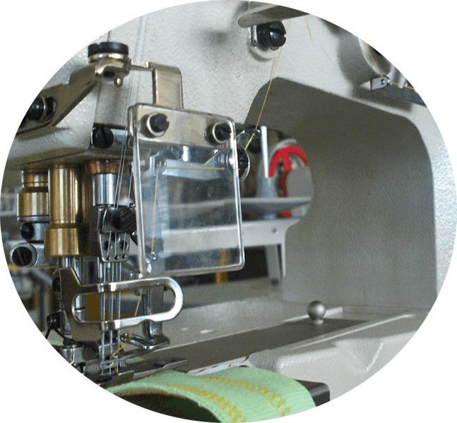 Máquina Galoneira Colarete Base Plana Fechada, Mil Special