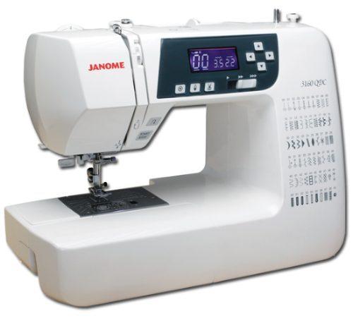 Máquina Costura Doméstica, Eletrônica, Janome 3160QDC